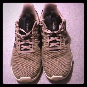 Adidas tennis shoes size 8 army green
